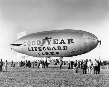 ~Some Old Pictures of the Goodyear Blimp~