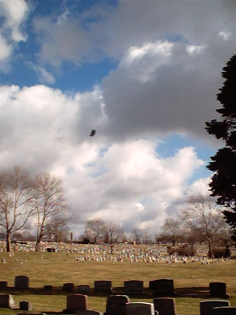 Feb. 2, 2002 ~Over Holy Cross Cemetery in Akron~