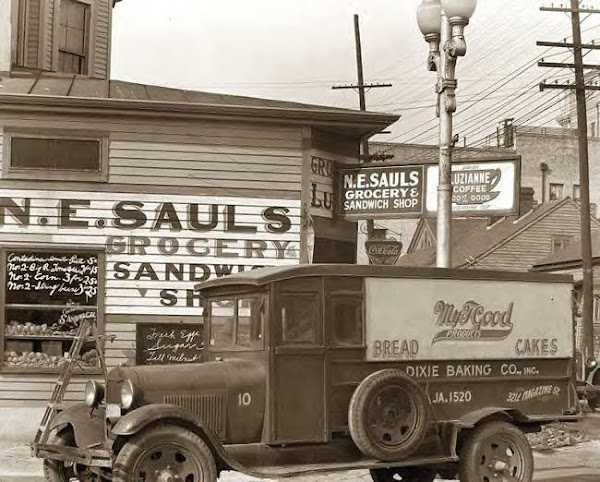 Delivery truck, New Orleans, La., 1936