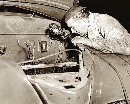 Washington DC auto mechanic, 1942, Photo-1