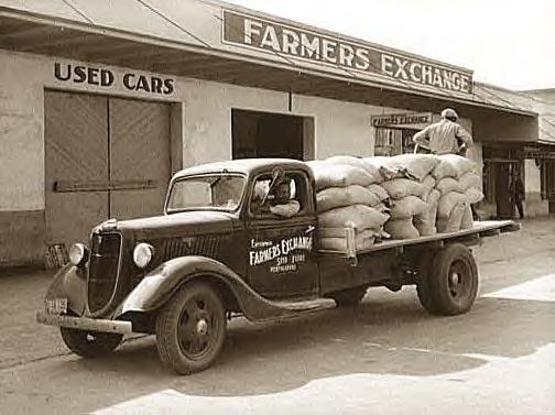 Fertilizer truck, Coffee Couty, Ala., 1939