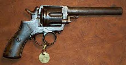 Texas Ranger, J.M. Brittain's Bulldog revolver