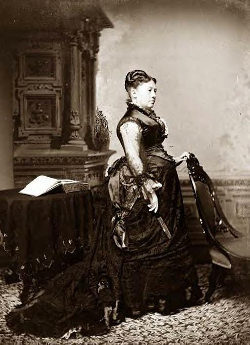 1865: Julia (Dent) Grant, wife of Gen. Grant