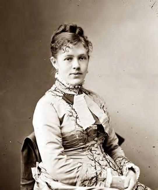 1870: Mrs. Algernon Sartoris, (Nellie Grant)