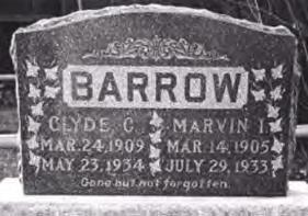 Clyde Barrow's Grave
