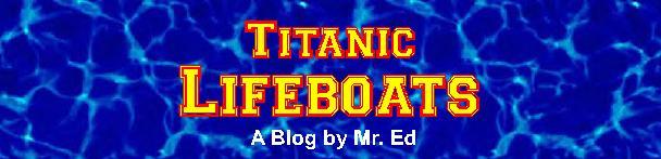 Titanic ~ Lifeboats