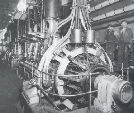 Main Generator in Engine Room