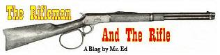 "Click logo to see my blog for the original TV series, ""The Rifleman"""