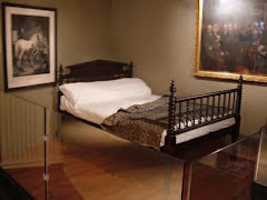 Lincoln's Deathbed now in a museum