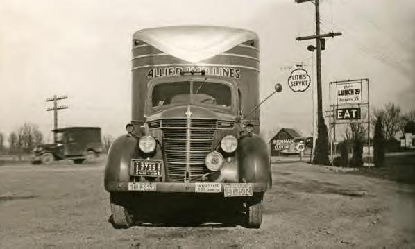 Allied Van Lines Truck 1935