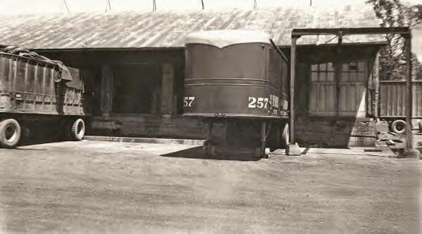 Bender & Loudon Motor Freight Dock. 1940s
