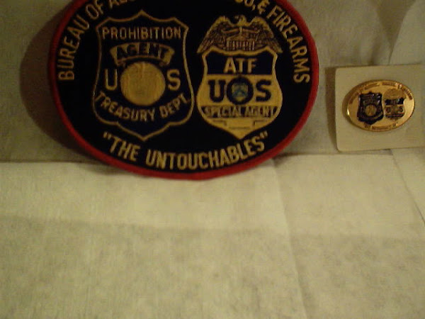 Untouchables patch and pin