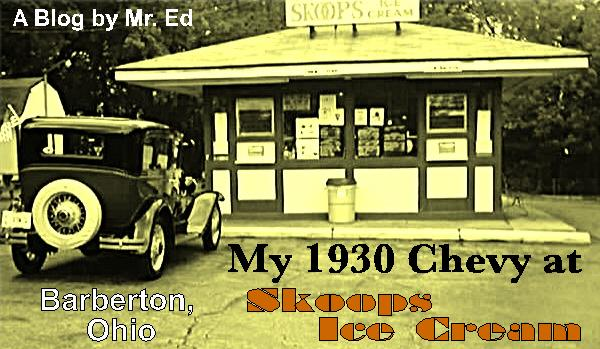 1930 Chevy at Skoops