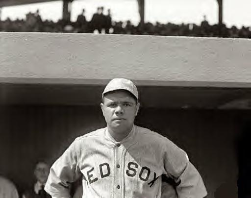 Babe Ruth. 1919