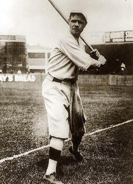 Babe Ruth. 1920