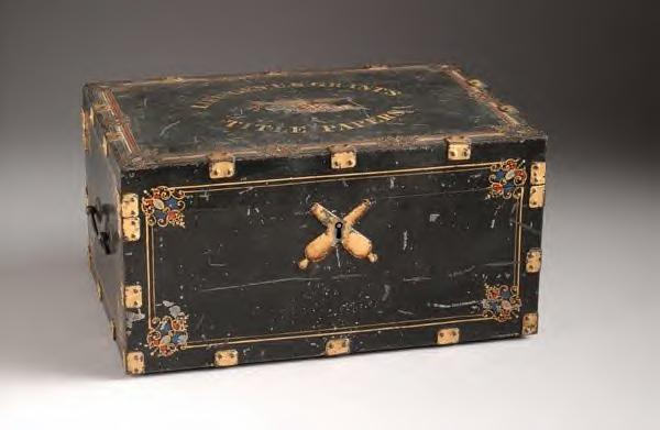 Ulysses S. Grant's Document Box. 1864