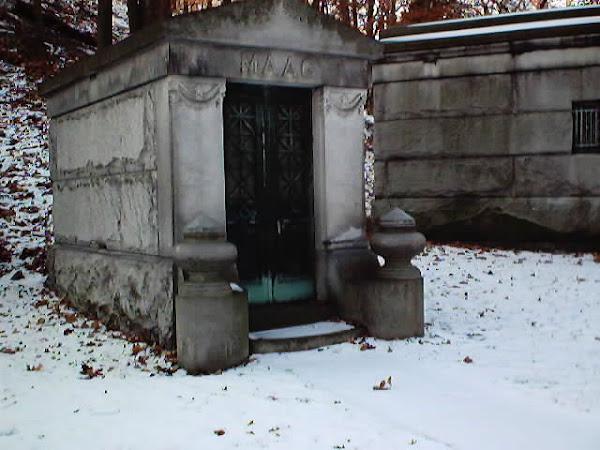 George & Lydia Maag mausoleum