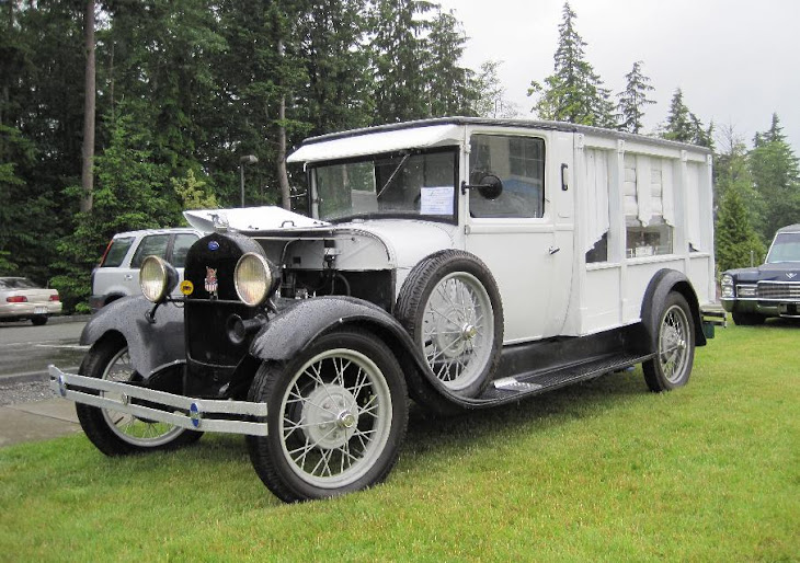 1929 Ford Model A Hearse
