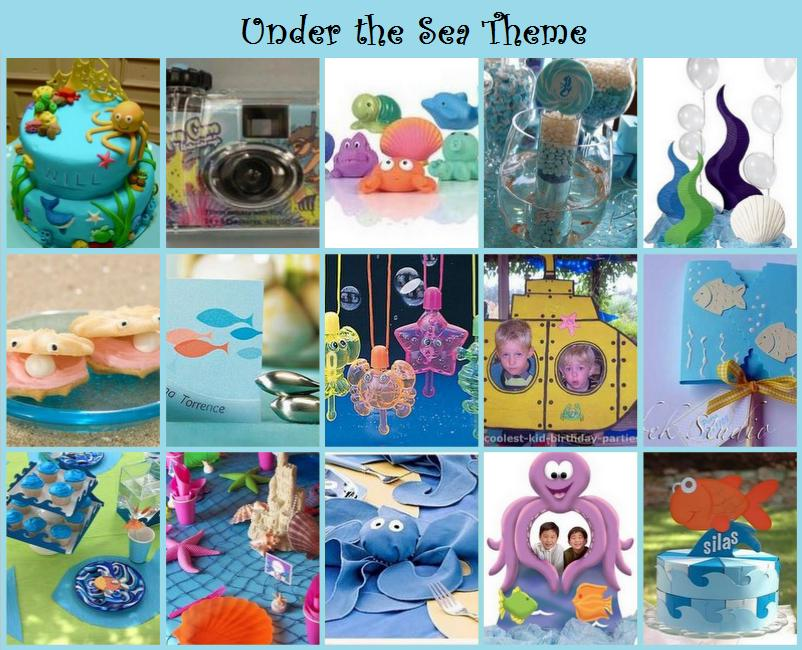 Party frosting under the sea