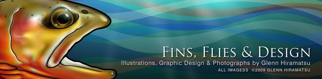 Fins, Flies & Design by Glenn Hiramatsu