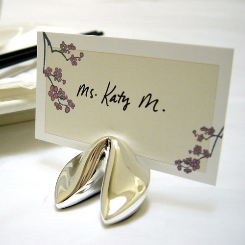 Fun panorama creative and fashionable place card holders for Place settings name card holders