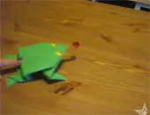 教你摺跳跳青蛙