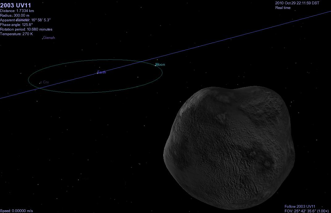 can you see asteroid today - photo #1