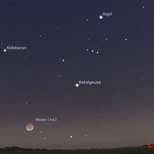 Lunar eclipse dates in Brisbane