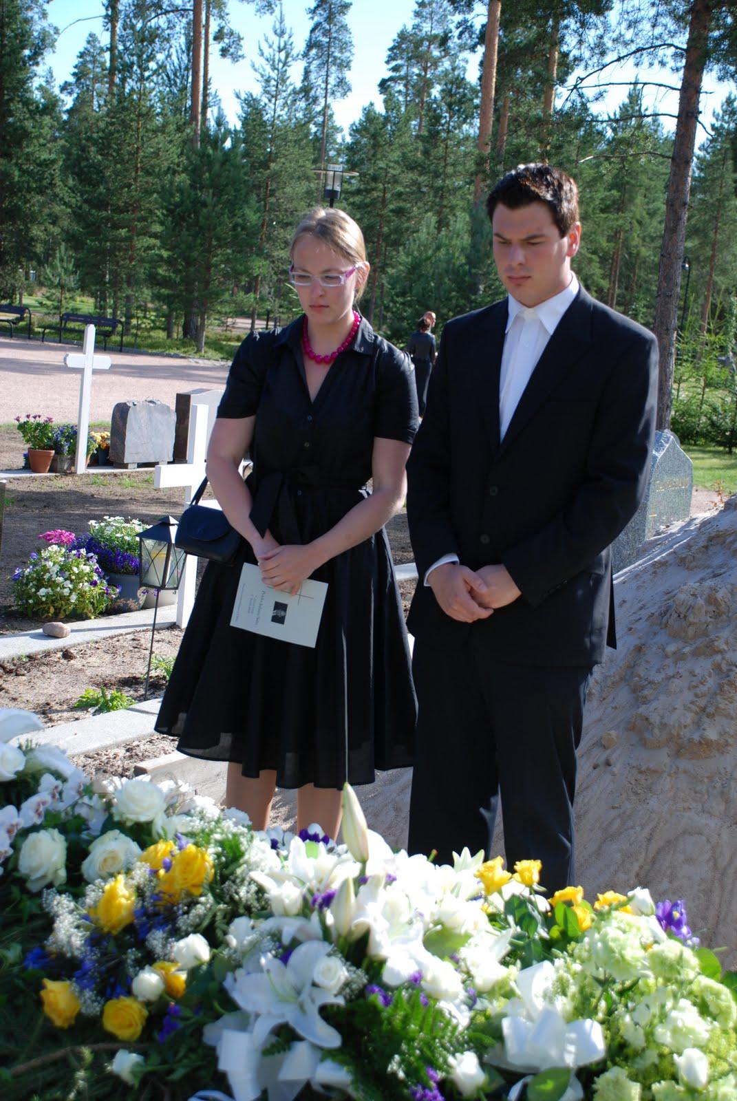klädsel begravning dam