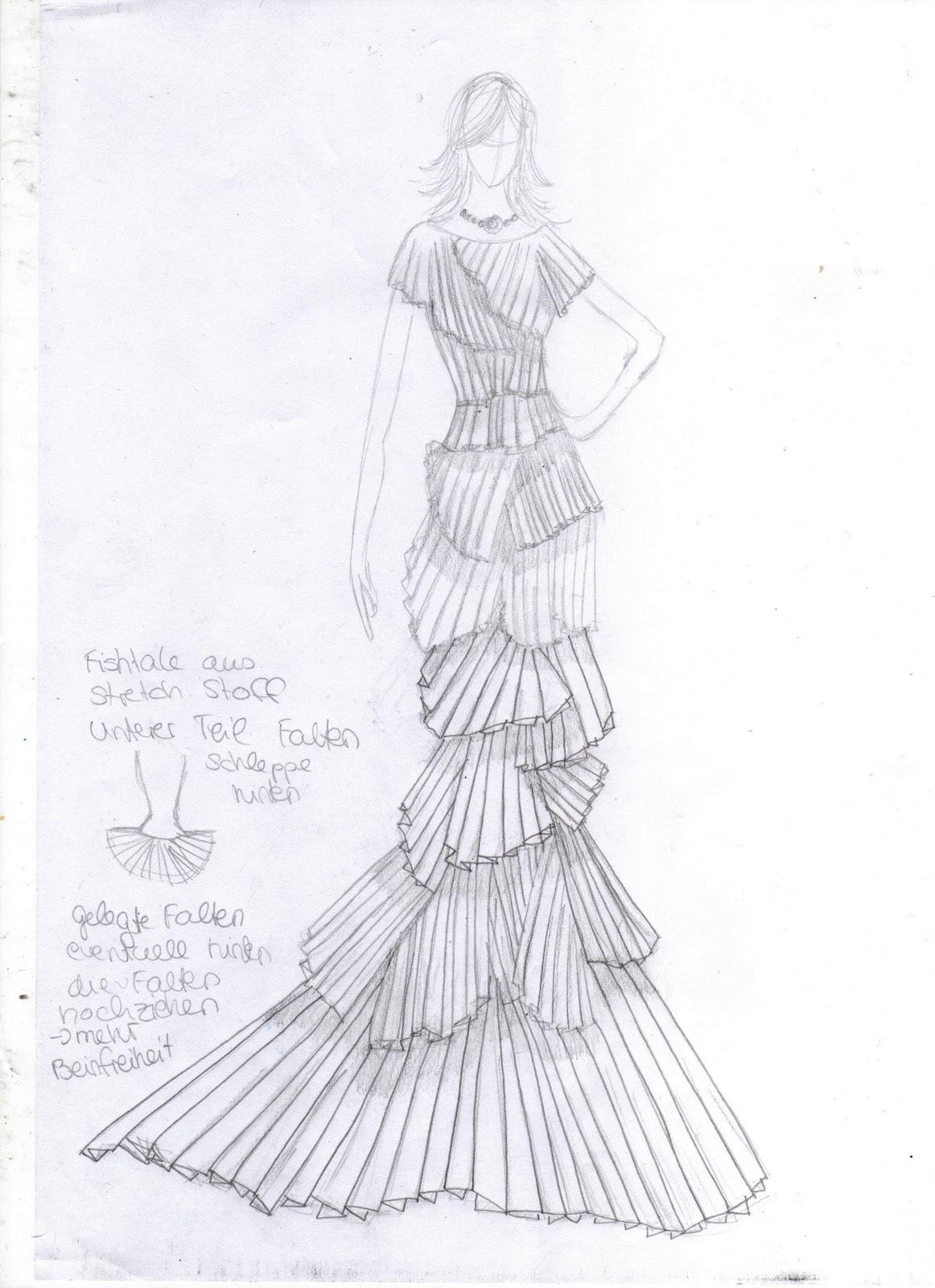 Juniwonderland immer wieder sonntags - Kleider zeichnen ...