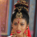 Beautiful And Sexy Babe Sada Alias Sadaf Traditionally Hot And Spicy  In Red Dress Hq Photo Gallery...