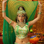 Beautiful And Sexy Babe Sada Alias Sadaf Traditionally Hot And Spicy  In Green Dress Hq Photo Gallery...