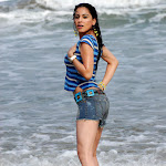 Sexy Babe Shraddha Arya Wet On Beach From The Telugu Film Romeo...