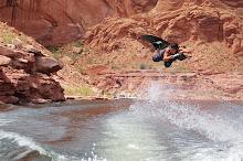 Nicholas wakeboarding