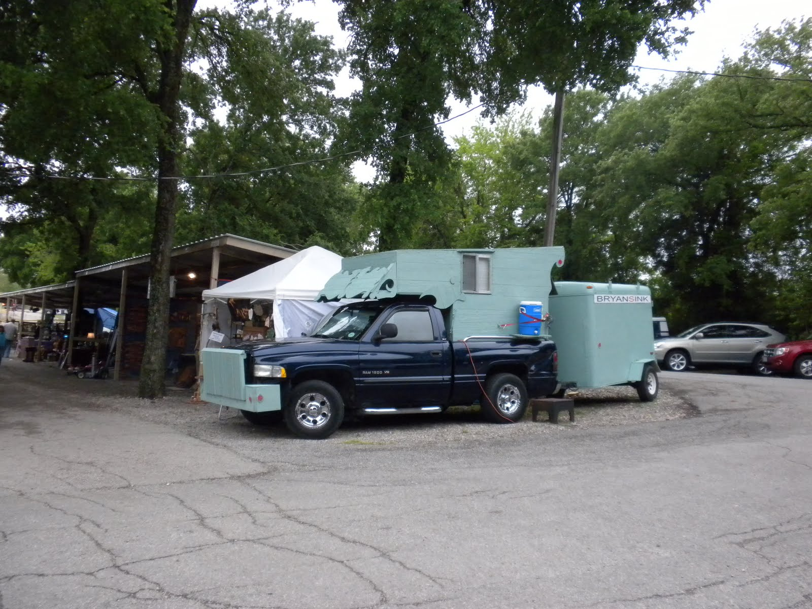 """Homemade Camper This """"homemade"""" camper and"""