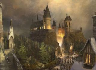 hogwarts theme park