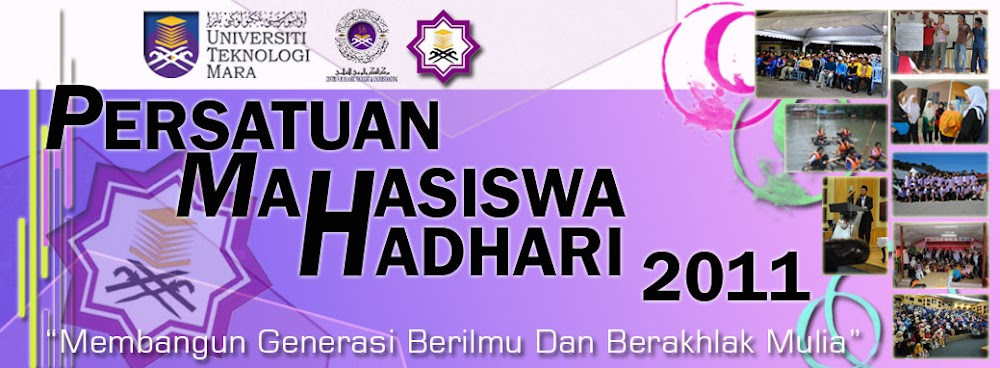 :: Persatuan Mahasiswa Hadhari ::