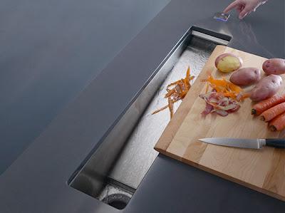 Kohler  Sinks on Kohler K 6448 Na Crevasse Bar Sink With Cynchronus Rinsing Technology
