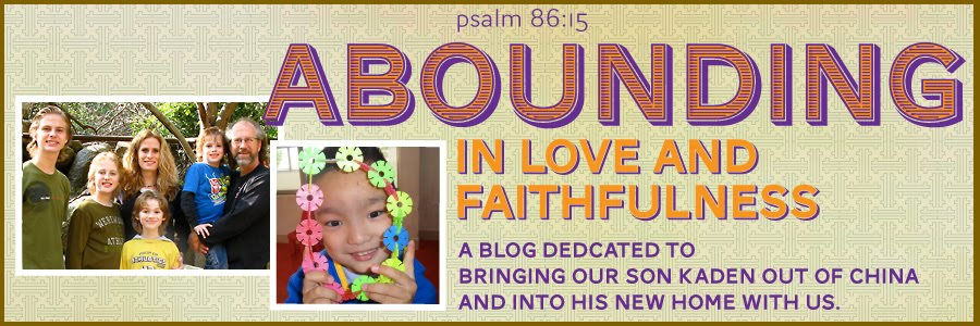 Abounding in Love and Faithfulness