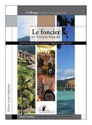 """AJPF - Actes du colloque """"le foncier en Polynésie française"""""""