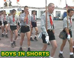 Boys in short shorts