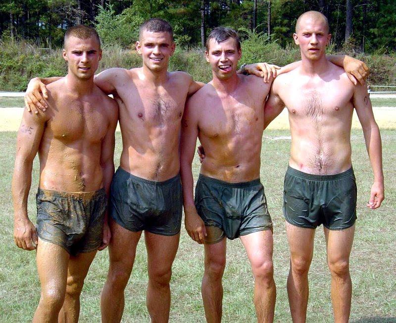 Military men on tumblr