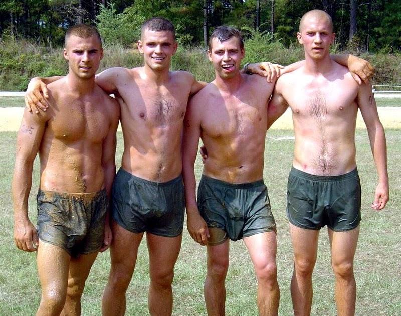 Boys in short shorts: Hot young guy in short denim cutoffs