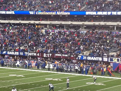 Giants 31, Eagles 10