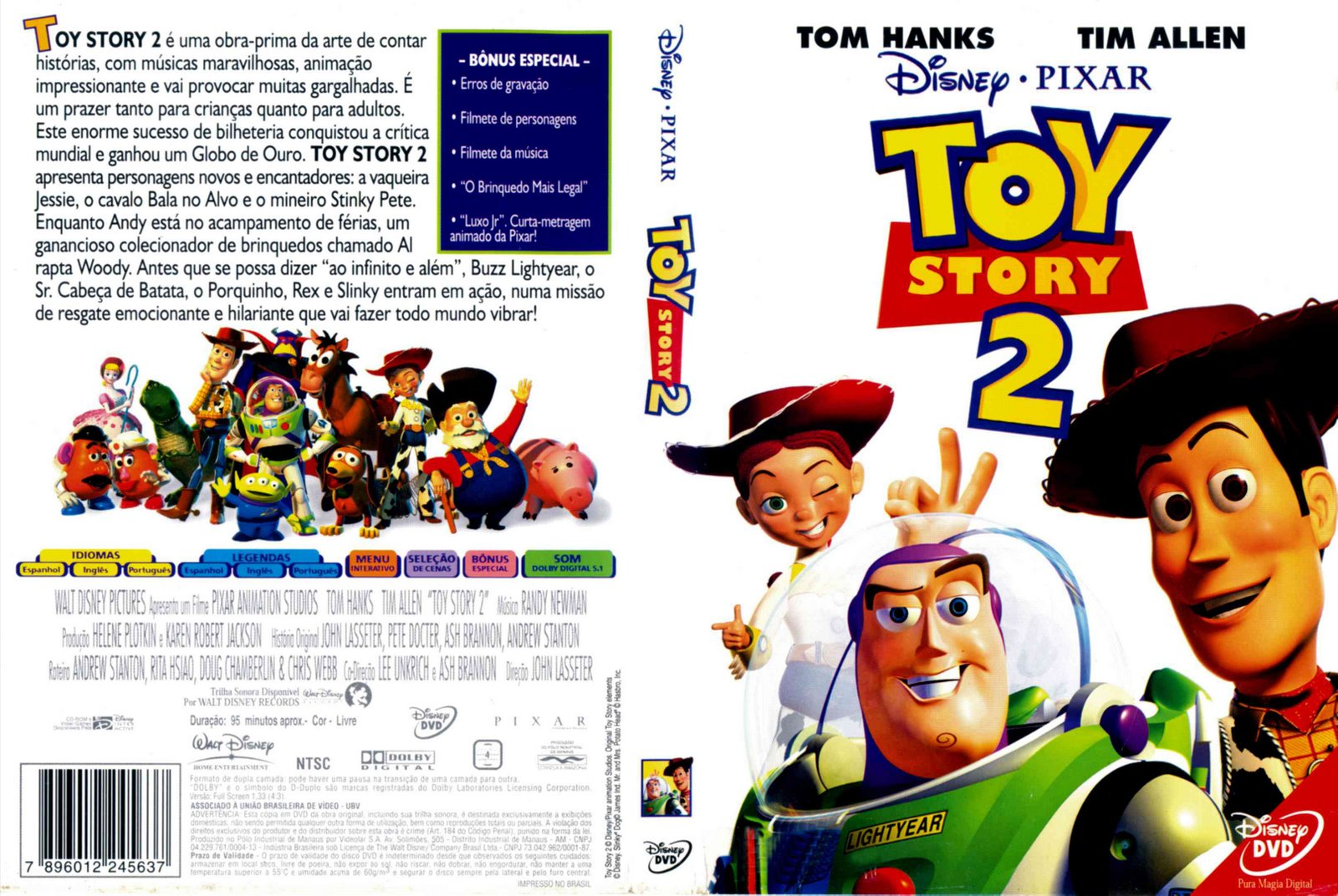 Toy Story 2 (Little Golden Book) by Christopher Nicholas