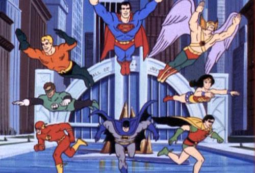 Los Super Amigos  1973