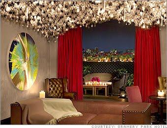 Exotic Places Romantic Retreat In Nyc Gramercy Park Hotel Haute Bohemian