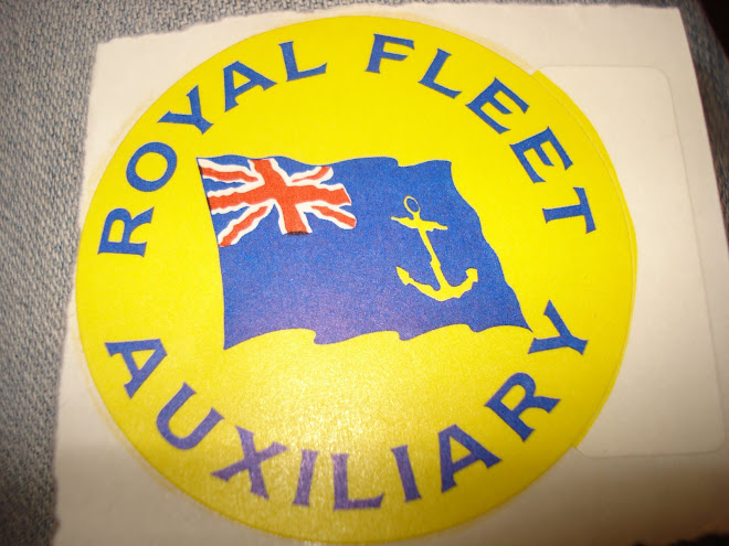 AUTOCOLANTE ROYAL FLEET AUXILIARY