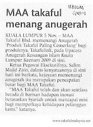 MAA Award!