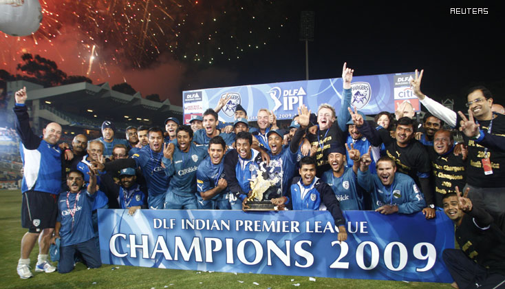 IPL 2 Winners Deccan Chargers, IPL 2009 Winners Deccan Chargers  (DC)